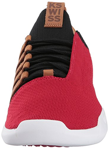 K brown Red Men's black Sneaker swiss White SxfSrwTq