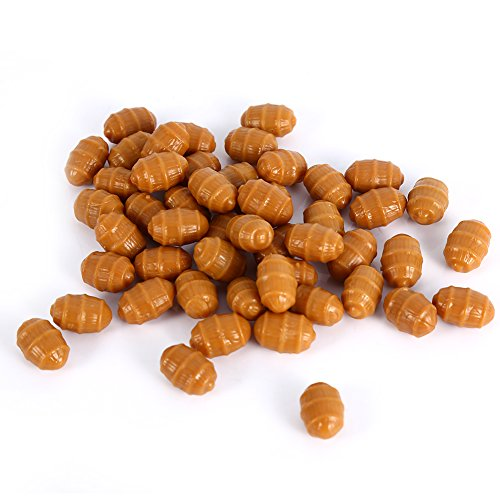 Fishing Baits Soft Carp Fishing Floating Artificial Tiger Nut Baits Terminal Tackle Pellets (#5-50pcs)