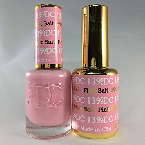 (DND DC Duo Gel + Polish - 139 Pink Salt)