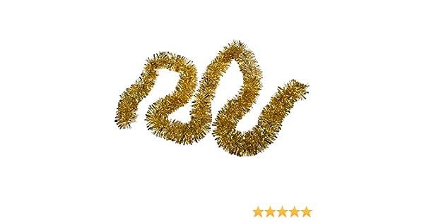 Amazon dollhouse miniature gold tinsel garland toys games