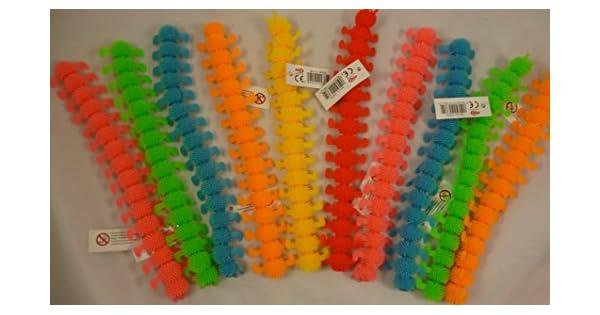 Amazon.com: Súper Elástico 9.4 inch goma Caterpillar – 1 ...
