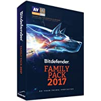 Bitdefender Family Pack 2017 (PC/Mac) - Unlimited Devices - 1 Year