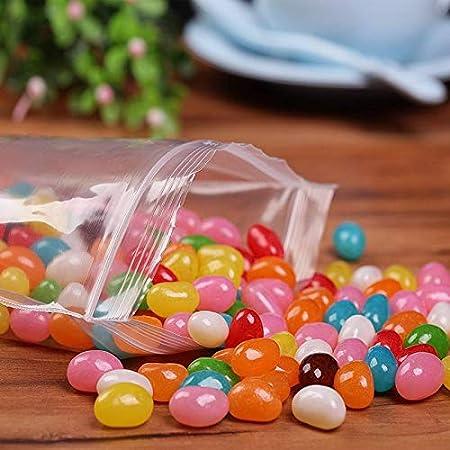 200pcs Herodada 3 x 4 2Mil Small Plastic Ziplock Bag Reclosable Zipper Bags