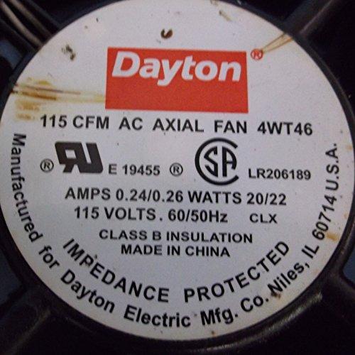 Dayton 4WT46 Fan, 115 CFM, 115 - Dayton Stores