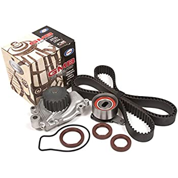 Evergreen TBK130WP Fits 86-89 Acura Integra LS RS 1.6L SOHC D16A1 Timing Belt Kit GMB Water Pump