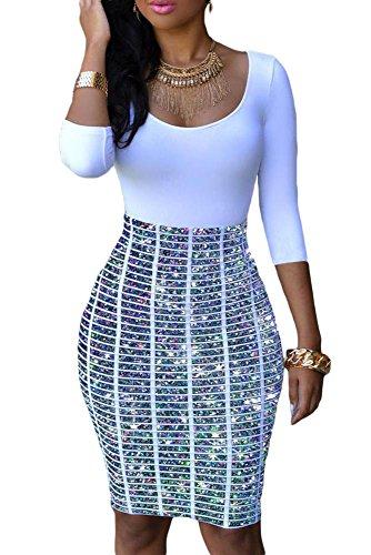 Bustier Knee Length Dress - 2