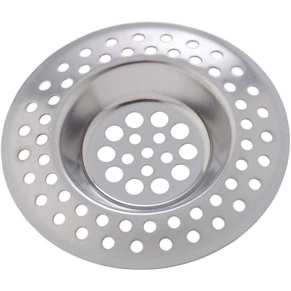 Bath Shower Plug Hole Hair Catcher Waste Kitchen Sink Drain Strainer 1-4 Pcs