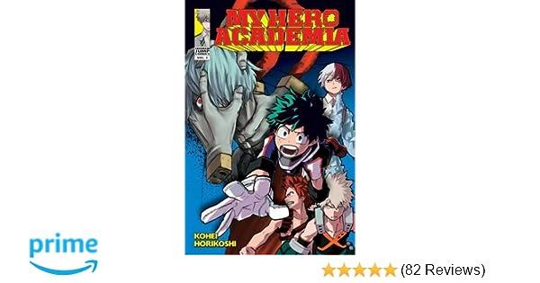Amazon com: My Hero Academia, Vol  3 (3) (9781421585109
