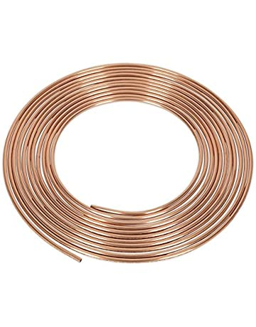 "Ford Transit 25ft 3//16/"" Copper Brake Pipe Male Female Nuts Joiner Tube Joint Kit"