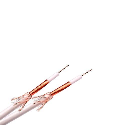 DCU TECNOLOGIC - Cable Coaxial 75 Ohms Apant.85% Blanco Apto ...