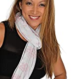 HappyLuxe Wanderlust Women's Scarf, Soft as Cashmere, comes with Neck Warmer