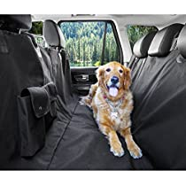 Dog Car Seat Covers, Arespark Waterproof Nonslip Pet Hammock Seat Cover for Cars- Black