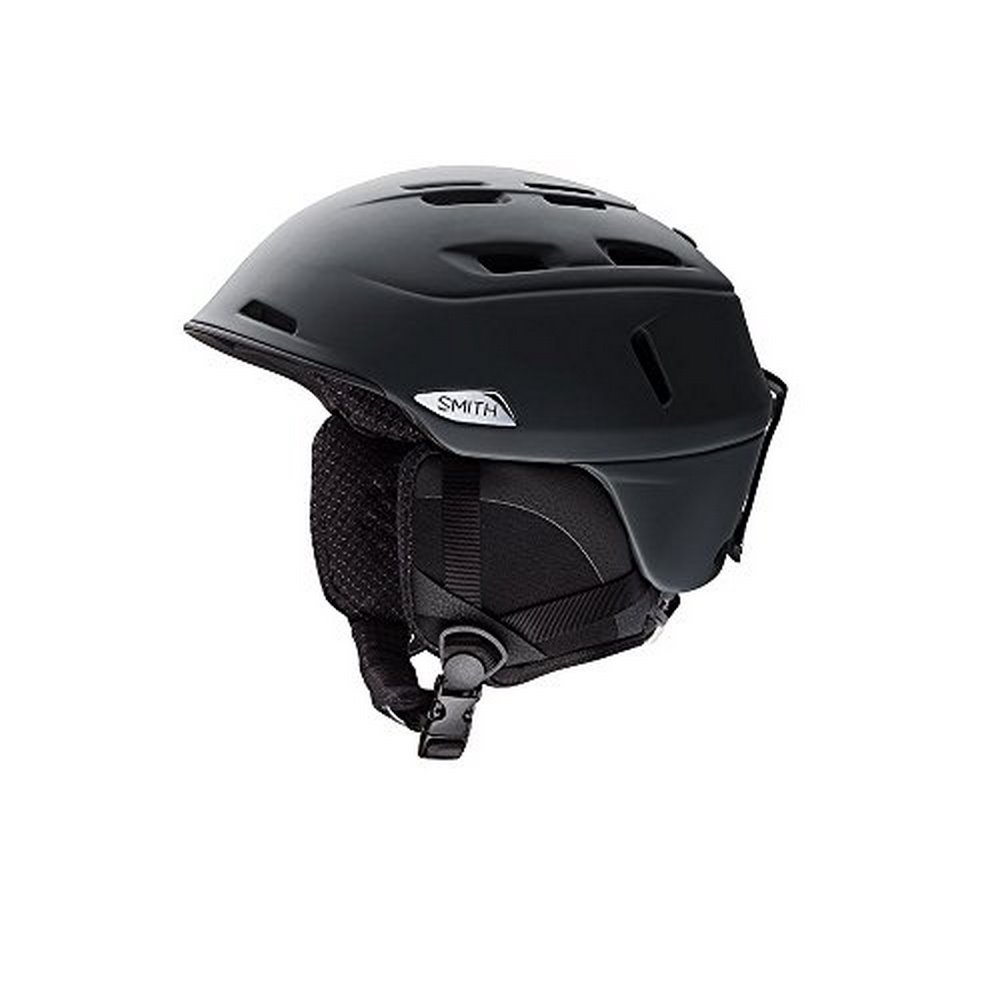 Smith Optics Unisex Adult Camber Snow Sports Helmet - Matte Black Medium (55-59CM) by Smith Optics