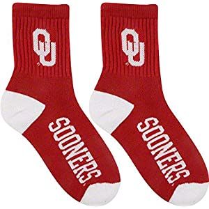 FBF NCAA mens Team Quarter Socks