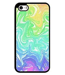 Tie Dye Series, Scratch-Resistant Hard Back Case Cover for iPhone 5 5s