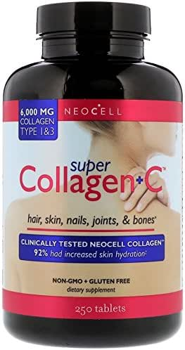 Neocell Collagen Super+C 250 Tablets