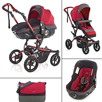 Jane - Coche de Paseo Duo Jané Crosswalk 5383 Matrix Light 2 rojo ...