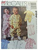 McCall's Pattern 5153 Infants' Jumpsuits and Romper, Newborn - Best Reviews Guide