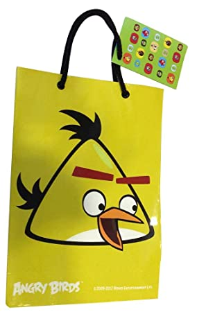Angry Birds Gift Bag Large Gift Boxes & Gift Bags at amazon
