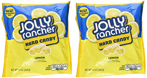Jolly Rancher Hard Candy- Lemon, 13-Ounce (Pack of 2) ()