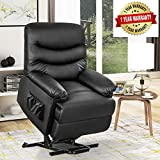 Recliner Chair Lift Chair for Elderly - Electric Recliner Chair with Remote Control for Living Room