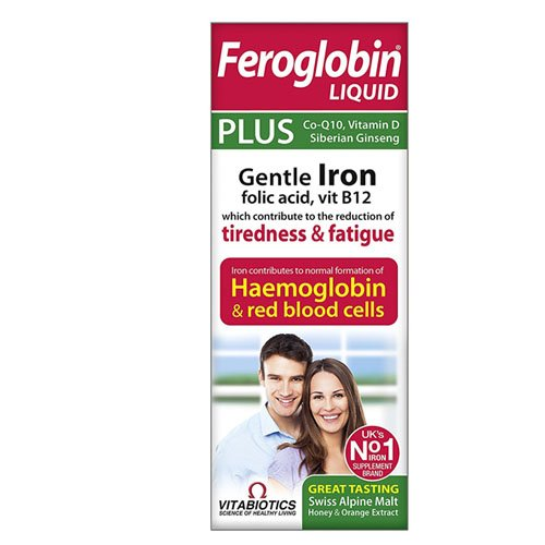Feroglobin Vitabiotics 200ml Plus Liquid