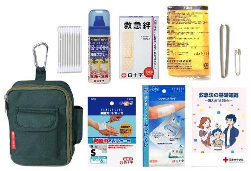 救急セット ポータブル ポーチ付きの商品画像