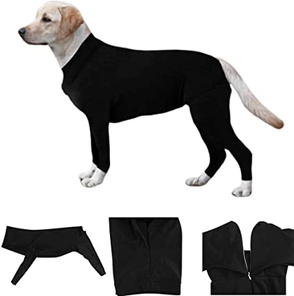 Removing Dog Hair Reduce Anxiety Replace Medical Cone PanDaDa Pet Cat Dog Onesie//Grooming