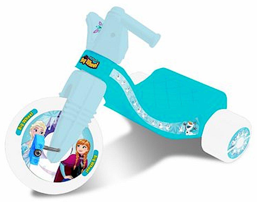 The Original Big Wheel Disney Frozen Big Wheel by (Ice Blue, Junior Rider - 8.5 Inch Big Wheel)