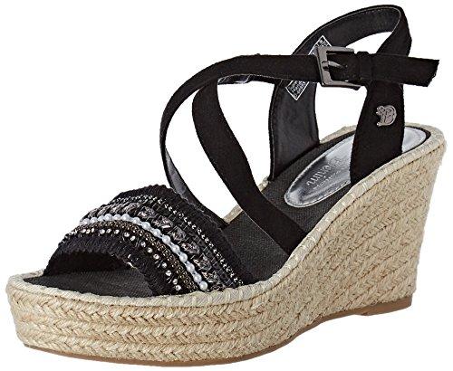Tom 2796605 Ankle Black Sandals Women''s Strap Tailor 00001 black qrqSx6OPw