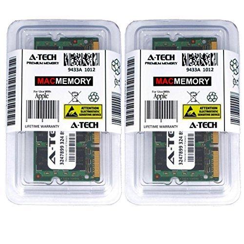 A- Tech 2GB Memory Kit 2x1GB Apple Macbook and Macbook Pro PC2-5300 667MHz Ram A1181 A1150 A1151 A1212 A1211 MA611LL/A MA610LL MA609LL (Ram Ram Gb 1)
