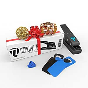 Top 1 Full Size Pick Punch. Make Custom Guitar Picks with this Pick Punch Kit. 4 Plastic Card Kit Included. Pick Holder Included. The Perfect Gift for Any Musician. 100 Percent Lifetime Guarantee