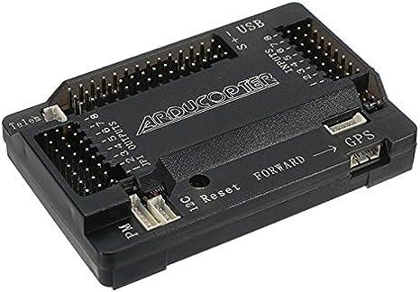 con el comp/ás LaDicha Ardupilot APM 2.8 Vuelo Control Tablero Doble Pin con Funda Protectora para RC Multi Rotor Drone