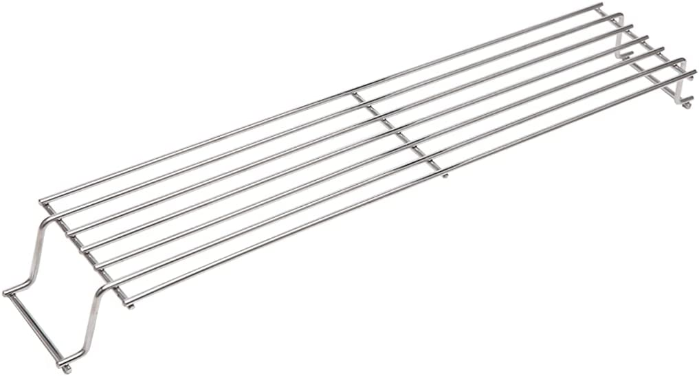 YIHAM KW426 Grill Warming Rack for Weber Spirit 200 Series (Years 2009-2012) with Side Control Spirit E-210, S-210, E-220, S-220 Gas Grills, 23 3/4 inch Warming Grate Weber 91288, 304 Stainless Steel : Garden & Outdoor