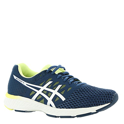 ASICS Women's Gel-Exalt 4 Dark Blue/Silver/Limelight 8 B US