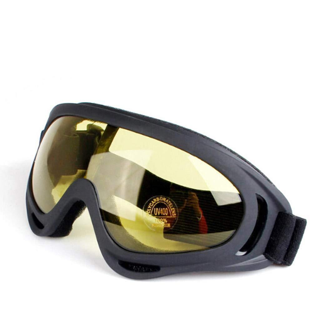 YENJOS Gafas de Esquí, Unisex Parabrisas Esquí Snowboard Motocicleta Ciclismo Gafas Montaña Gafas Gafas de protección Unisex Parabrisas Esquí Snowboard Motocicleta Ciclismo Gafas Montaña Gafas Gafas de protección