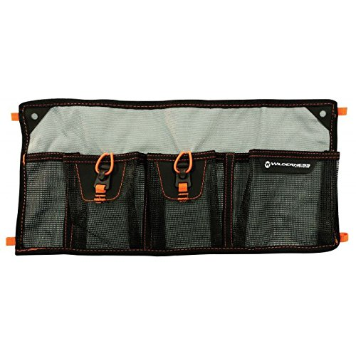Wilderness Systems Mesh Storage Sleeve - 4 Pocket - for Kayak Storage