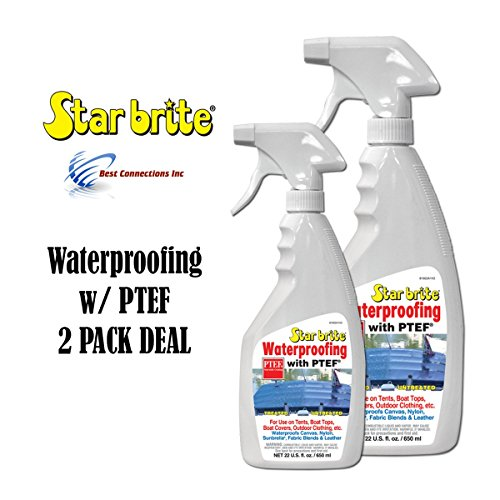 (Waterproofing W/ PTEF 22oz Marine Fabric Cleaning Supply StarBrite 81922 2)