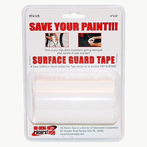 ISC Helicopter-OG Surface Guard Tape (8 mil Outdoor Grade): 4 in. x 12 ft. (Transparent) - Curved Cut Out Pull