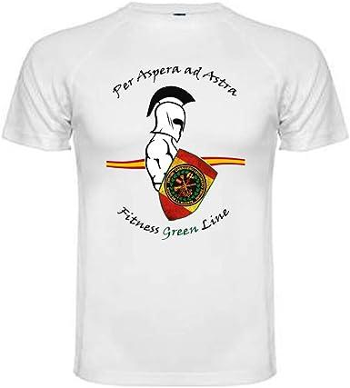 ALBERO Camiseta Técnica Caballero Legionario. Talla L. Legión Española: Amazon.es: Ropa y accesorios