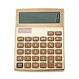 Fashionable Solar Calculator Cute Portable Calculator,Gold