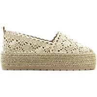 Modelisa - Zapato Alpargata Plana para Mujer