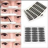 Belegend New Black Eyeliner Sticker Double Eyelid