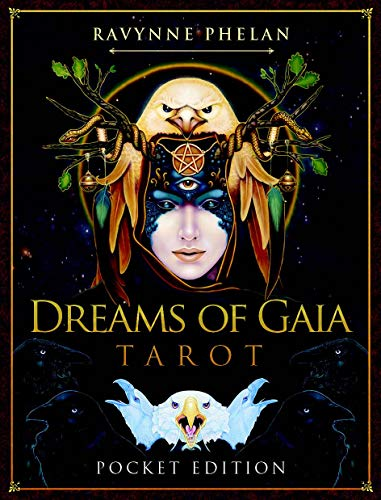 Dreams of Gaia Tarot - Pocket Edition: 81 full col cards and 112 page guidebook Paperback – 2 Oct. 2019