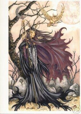 Dark Elf 3 Amy Brown Open Edition 11