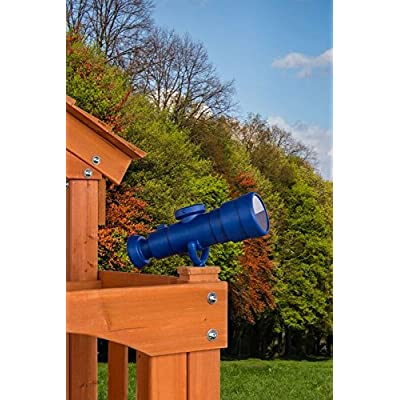CREATIVE CEDAR DESIGNS Playset Telescope Accessory- Blue, One Size: Sports & Outdoors