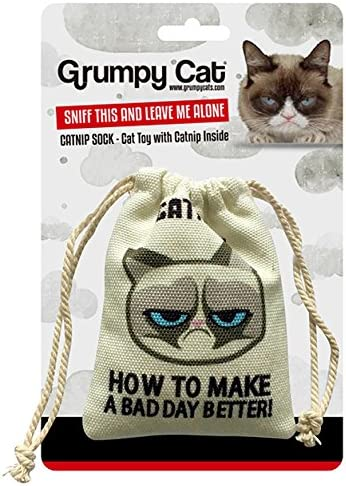 Amazon Com Grumpy Cat Catnip Sack Toy Pet Supplies
