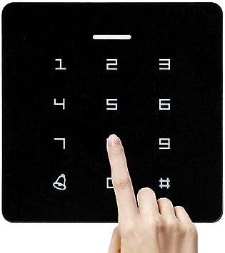 Control de acceso independiente, lector de tarjetas RFID con acceso al teclado digital, adecuado para oficina/residencial/almacén.