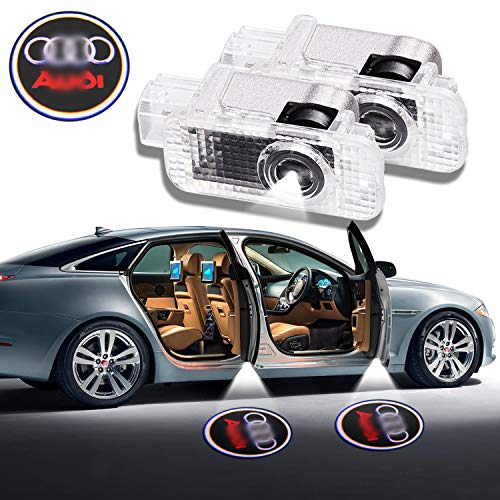 grolish 2/Â/ Piece Car Door LED Lighting Entry Ghost Shadow Projector Welcome Lamp Logo Light