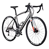 Diamondback Bicycles Airen 1 Women's Endurance Road Bike, Silver, 56cm/Large